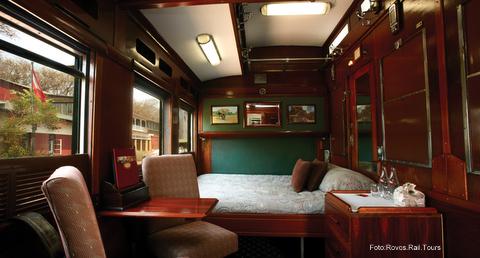 1-Kategorie Leopard mit Doppelbett - Rovos Rail Tours